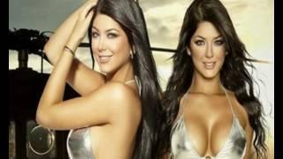 Самые красивые  колумбийские модели близнецы