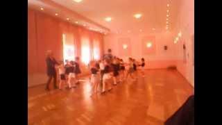 Открытый урок бальных танцев