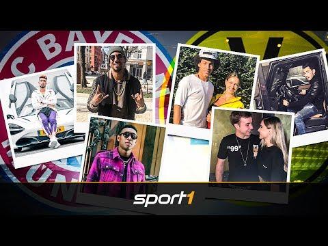 Autos, Swag und Lifestyle: FC Bayern und BVB im Vergleich | SPORT1
