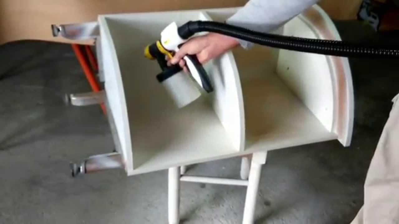 Pintando muebles de cocina V33 & Wagner W665 - YouTube