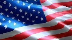 USA Flagge und Hymne - Amerika Fahne und Nationalhymne