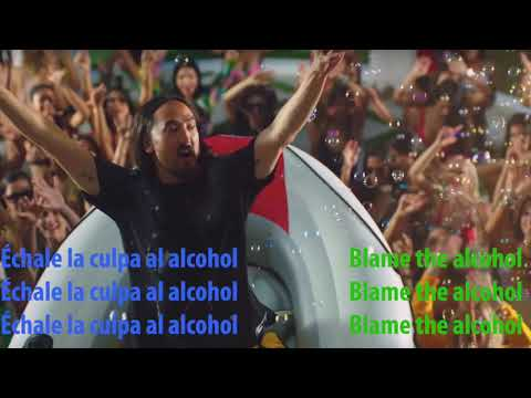 Nicky Jam & Steve Aoki - Jaleo Letra/ Lyric Video