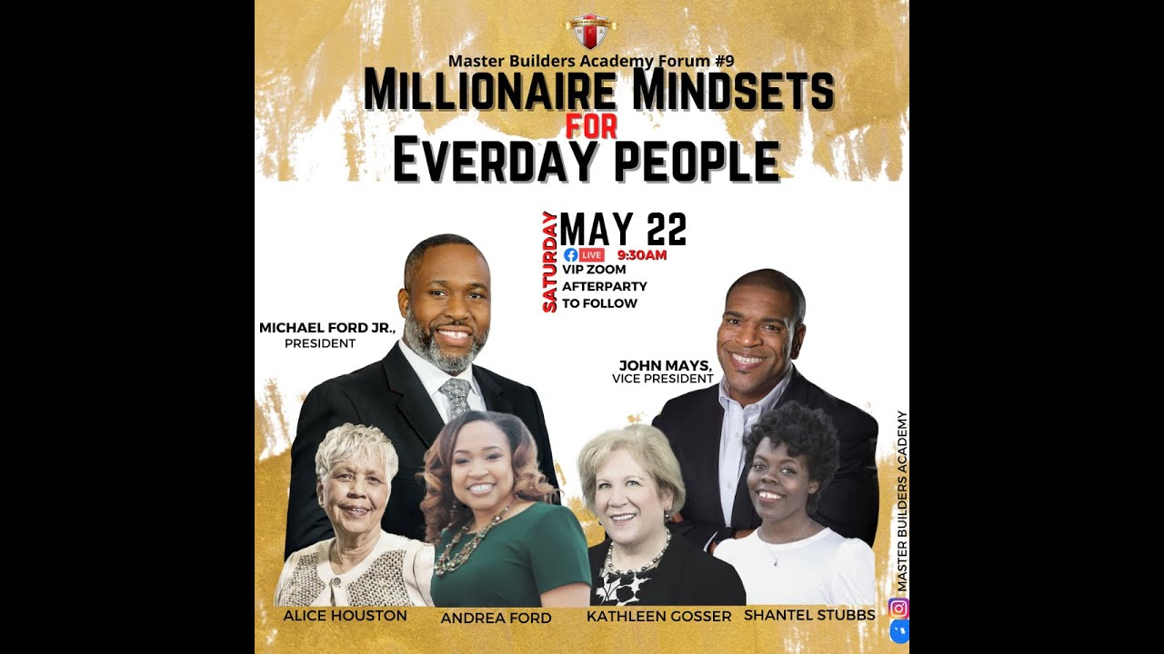 Millionaire Mindsets for Everyday People