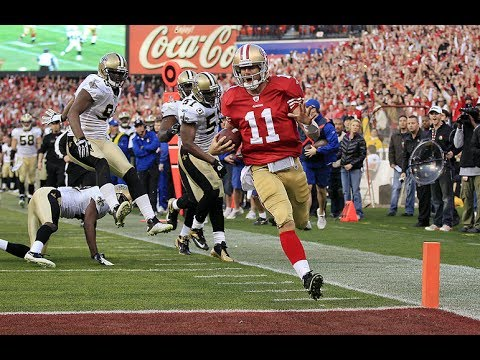 2011-12 NFL Divisional Playoffs: 49ers vs Saints Full Highlights | NFL  Highlights - YouTube