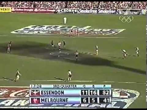 2000 AFL Grand Final Essendon Bombers Vs Melbourne Demons
