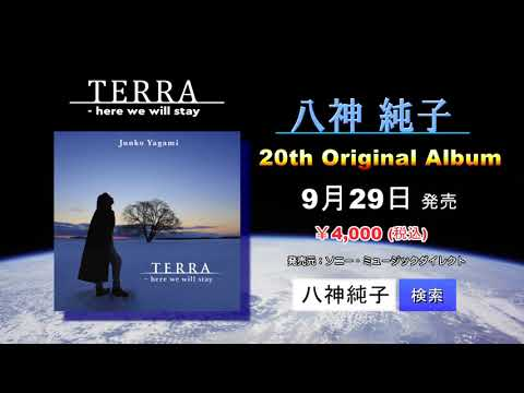 TERRA  - here we will stay 八神純子ニューアルバム発売!