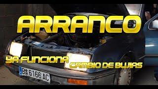 Y arrancó el SIERRA - Cambio de bujias! Ford Sierra 2.0 CARBURACIÓN! Seguimos con la restauración.
