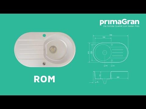 rom-granitspüle