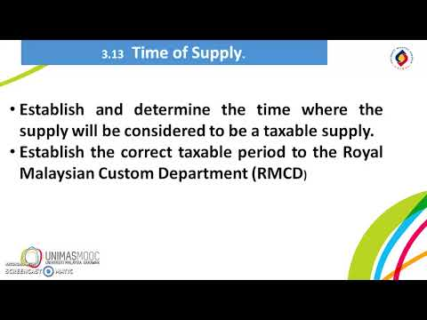 LU2: Taxable Supply and Taxable Person (Learning Video 2)