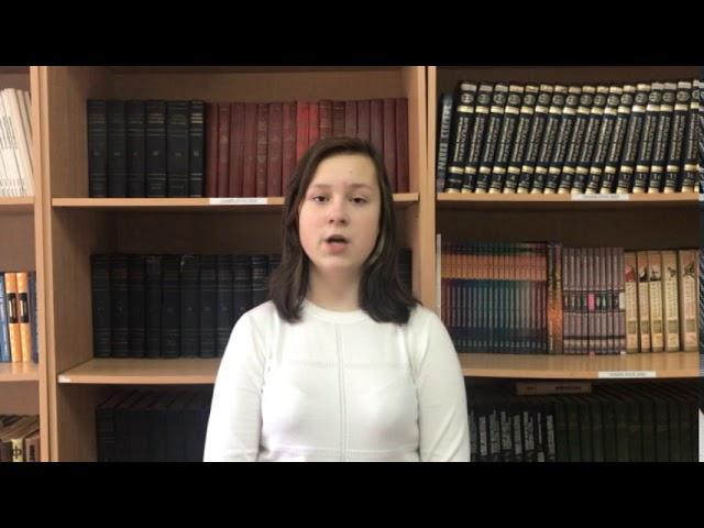 Изображение предпросмотра прочтения – ЯнаБлохина читает произведение «Я покинул родимый дом…» С.А.Есенина