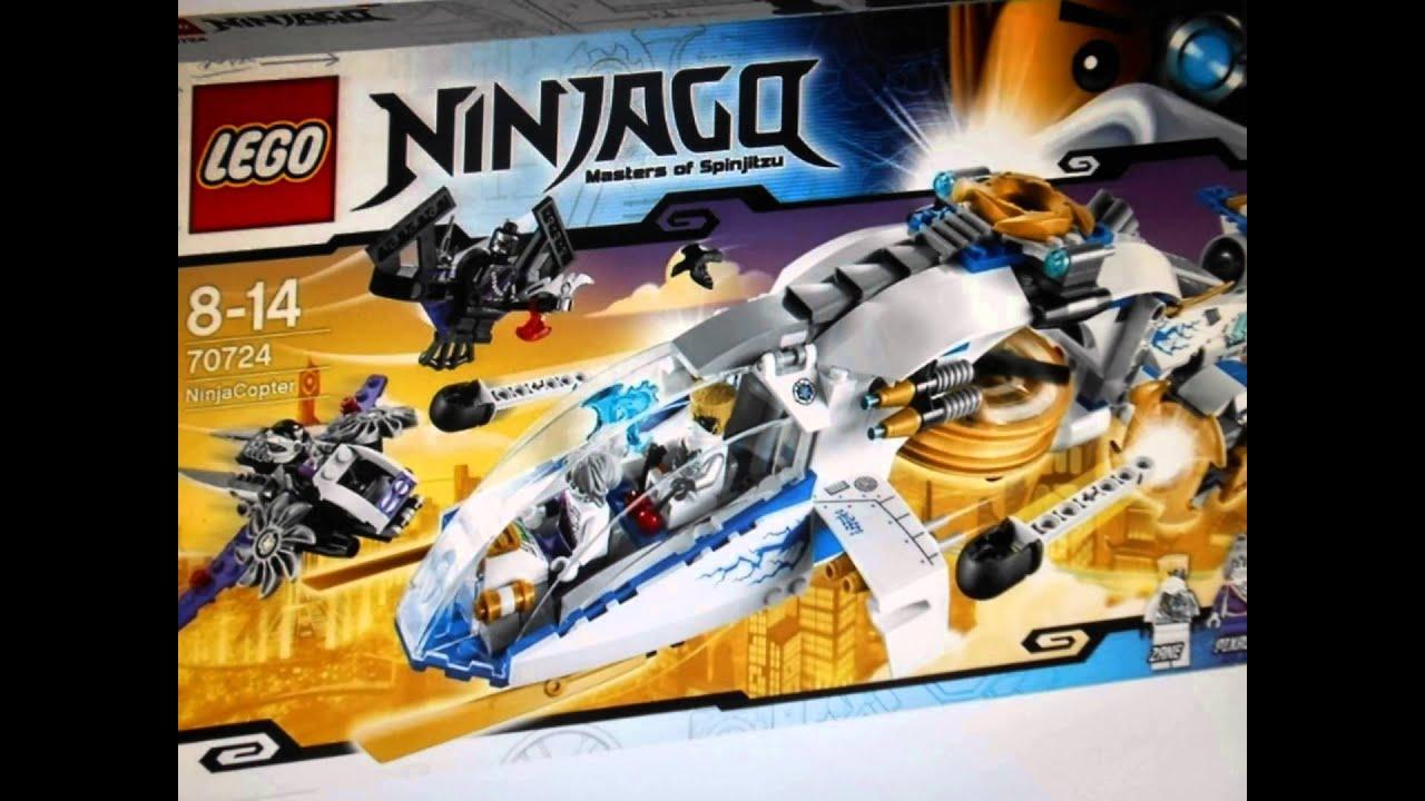 ОБЗОР: LEGO NINJAGO #1 Коллекция минифигурок - YouTube