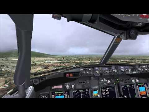[FSX] PMDG 737-800NGX Take off and Landing. [Thailand Nokair]