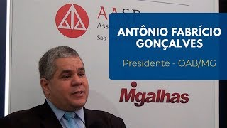 Antônio Fabrício de Matos Gonçalves | Presidente da OAB/MG