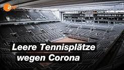 Ein Tennisjahr ohne Sandplatz-Saison | SPORTreportage - ZDF