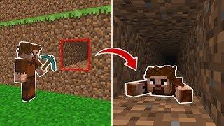 BEBEK FAKİR BABASINDAN SAKLANIYOR! 😱 - Minecraft