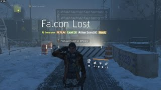 The Division | Heroic Falcon Lost [Completed Solo]