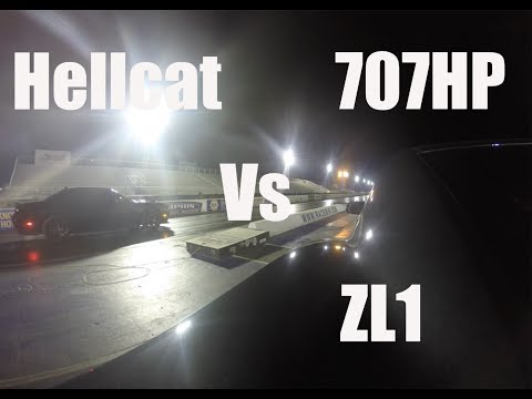 hellcat vs zl1 rematch with burnouts doovi. Black Bedroom Furniture Sets. Home Design Ideas