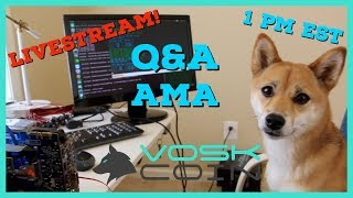 VoskCoin Q & A AMA | Cryptocurrency | Mining | Trading | New Shirts!