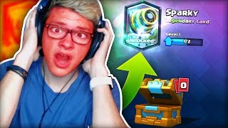 kid freaks out after getting wrong legendary in Clash Royale..