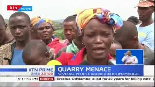 Residents of Kilimambogo in Thika East have demanded total shut down of Synohydro corporation ltd