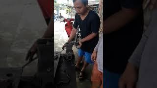 Cara ngatasi cakar ayam motor bengkok, di kerja dengan cara manual