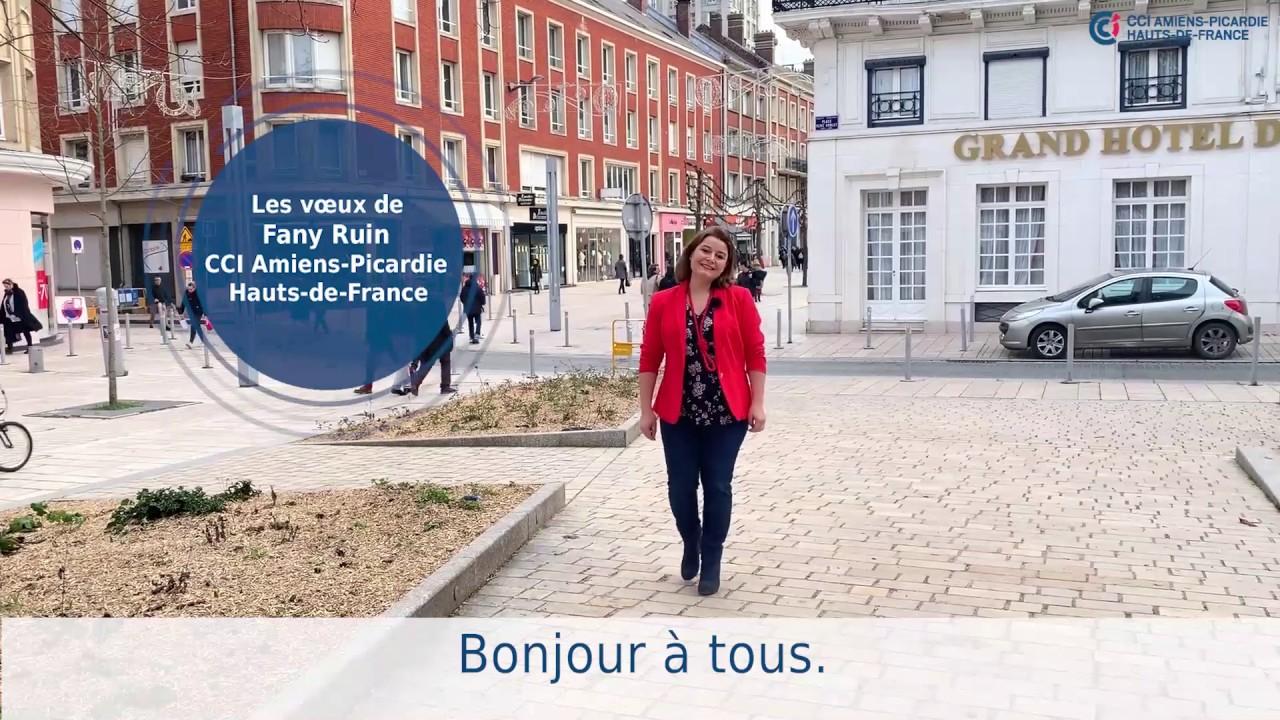 Voeux 2019 de Fany Ruin, présidente de la CCI Amiens-Picardie