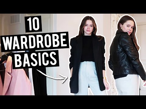 10 Fashion Basics Every Girl Should Own