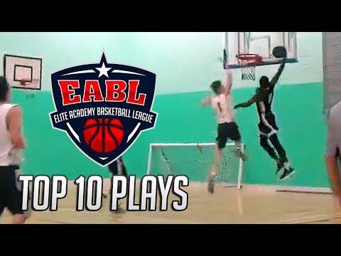 EABL Top 10 Plays Week 9 - 2017/18 Season
