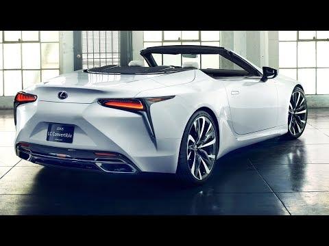 2020 Lexus LC Convertible - interior Exterior (FIRST LOOK)