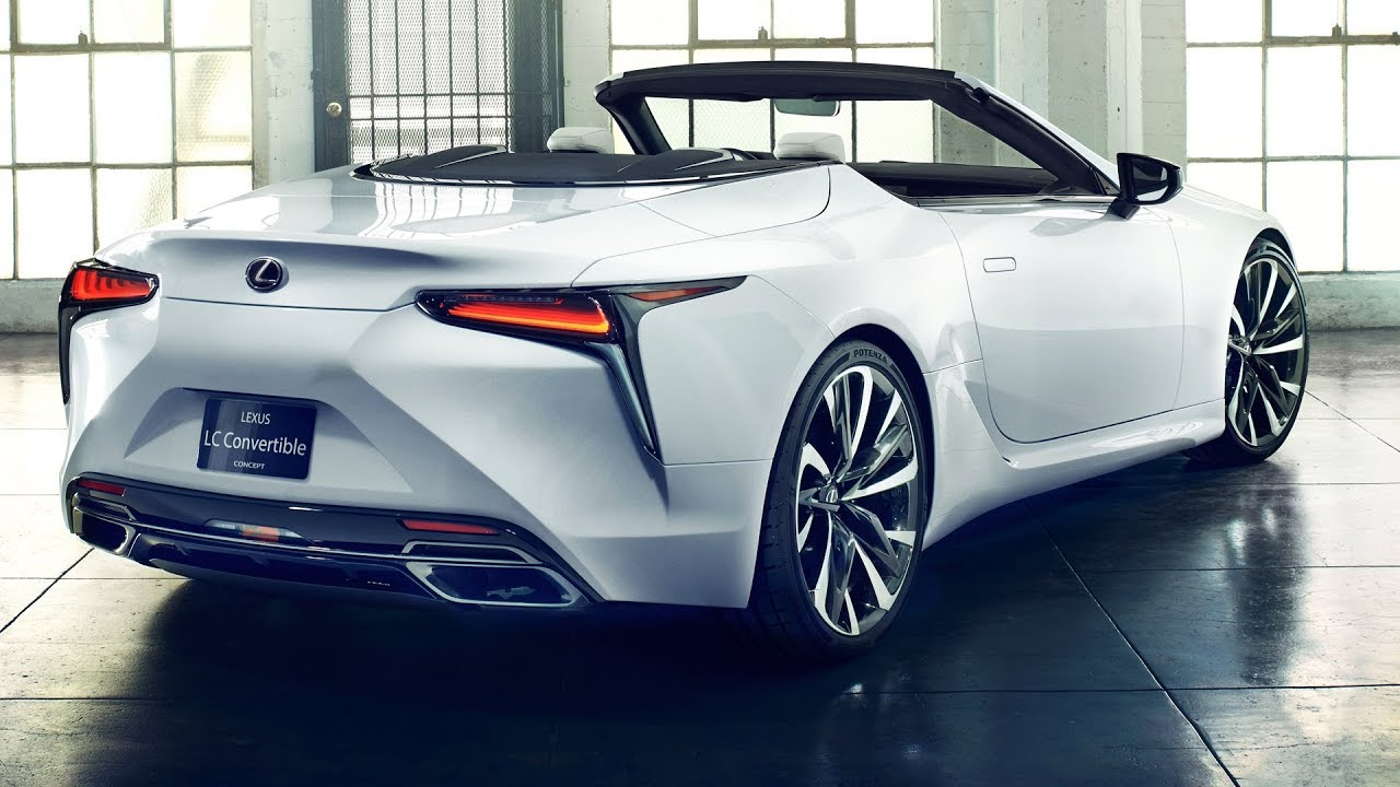 2020 Lexus Lc Convertible Interior Exterior First Look Youtube