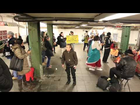Hare Krishna Rebuked in the NYC Subway