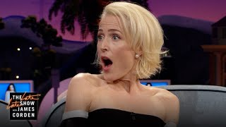 Gillian Anderson's Son Gave Her a Birds & Bees Scare