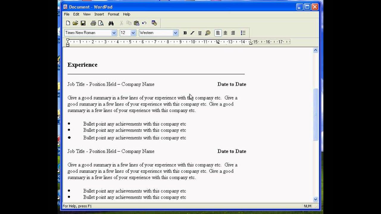 wordpad online free