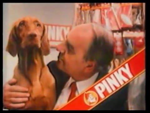 Pinky dierenvoeding reclame met Willem Duys (1983)