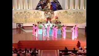 Gx Tân Phước - Tiến Hoa Dâng Mẹ - Tu Hội Nước Hằng Sống - P1 - 2013