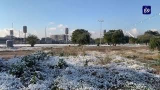 بغداد تكتسي بالثلوج لأول مرة منذ 12 عاما (11/2/2020)