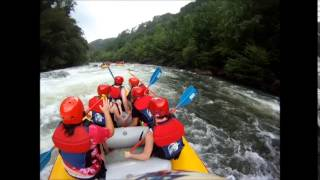 Middle Ocoee Rafting Trip w/ Fast Fred and Chick Fil A Employees - July 20, 2014