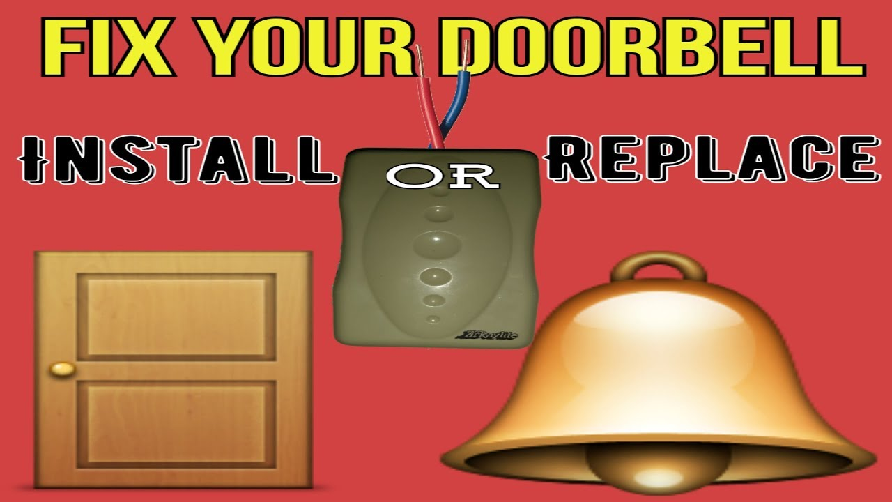 How To Install Doorbells In India Fix Dorbell Wiring Correct For Doorbell Connection Of Hindi