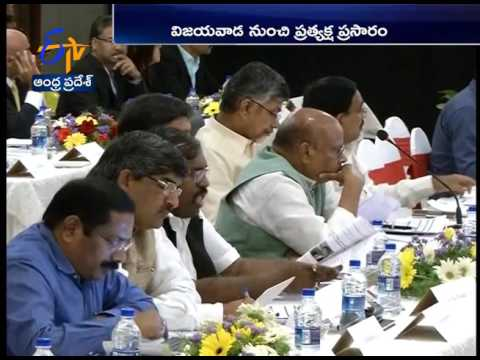 CM Chandrababu Naidu Meeting With japanese Companies in Amaravati