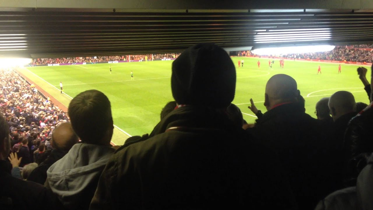 Pedestal Fans Blocking : Severely restricted view seating at anfield youtube