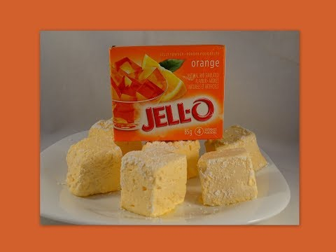 How to Make Marshmallows Using Jell-O Powder- with yoyomax12