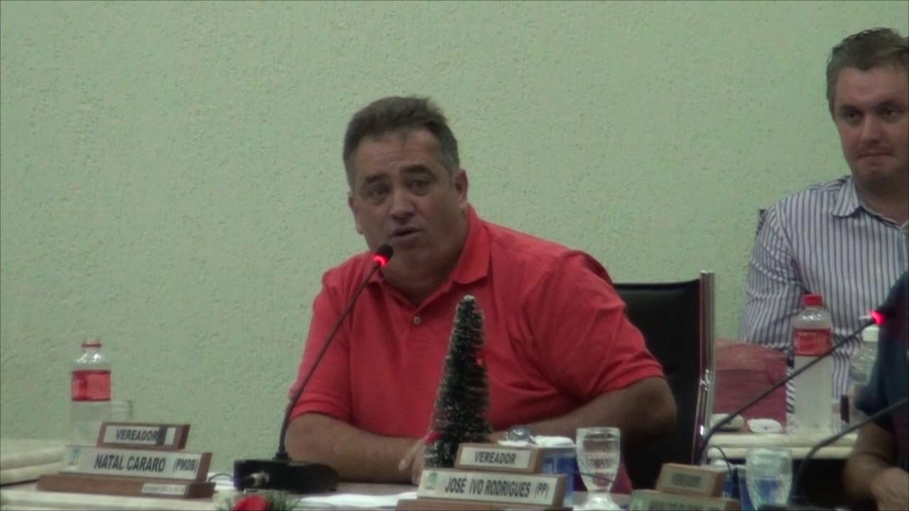 Vereador Natal faz desabafo e Prefeito se retira da Câmara Municipal