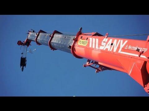 Видео короткобазового крана PALFINGER SANY SRC 350C (RU)