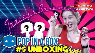 pop in a box unboxing 5 12 more mystery funko pops