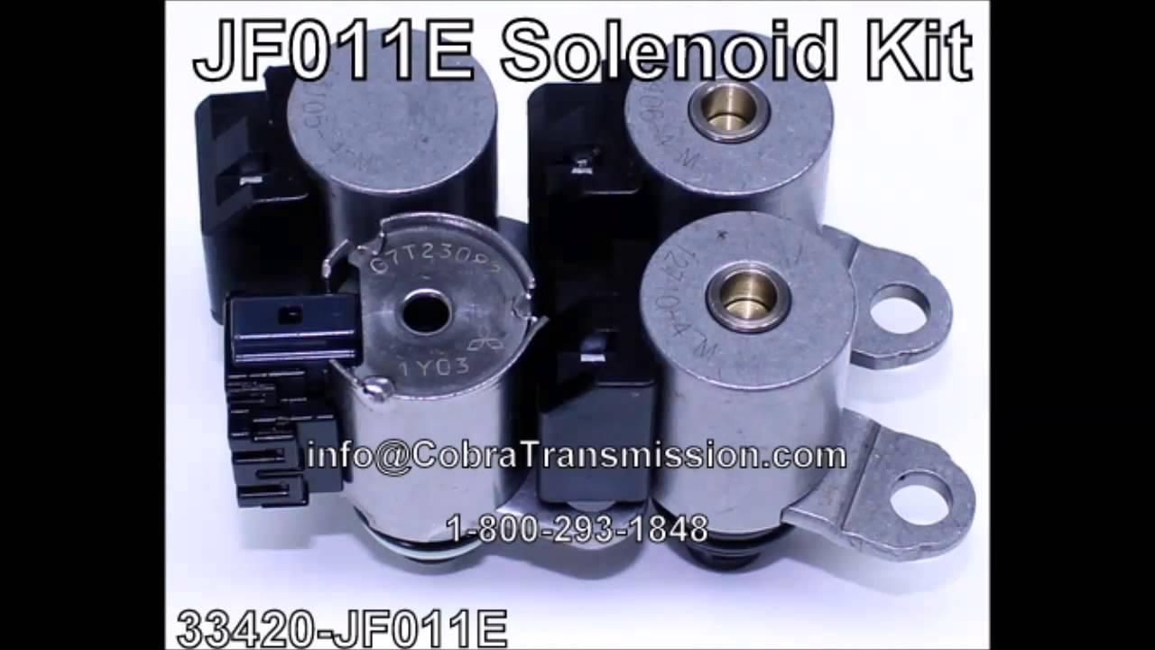 jf011e solenoid kit 33420 jf011e youtube. Black Bedroom Furniture Sets. Home Design Ideas