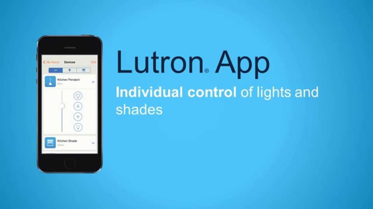 Lutron Wireless Shades