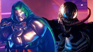 Street Fighter 5 - DR. DOOM vs VENOM (Marvel) | PC Mods Gameplay @ 60ᶠᵖˢ ᵁᴴᴰ ✔