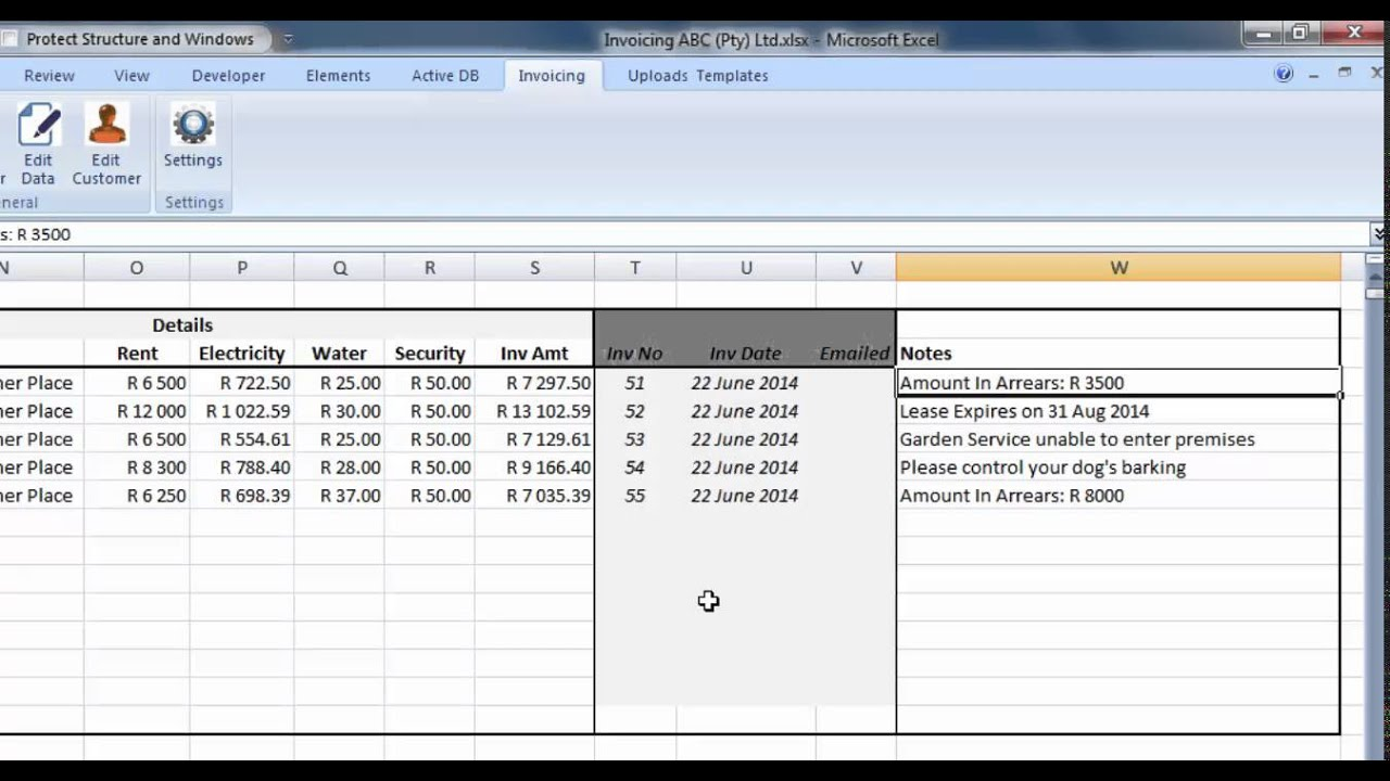 RAPIDFIRE AUTOMATED INVOICING FOR EXCEL YouTube - Automated invoicing