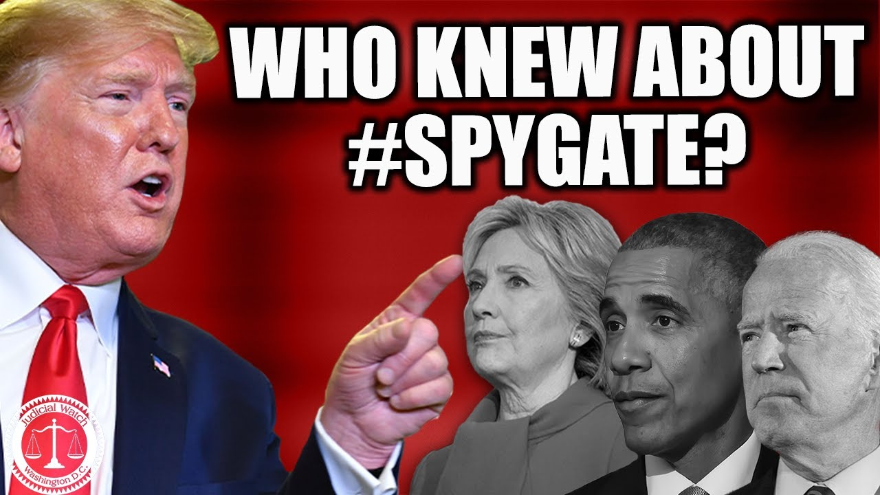Tom Fitton: Obama, Biden, Hillary Clinton, James Comey ALL KNEW about #SpyGate Targeting of Trump!