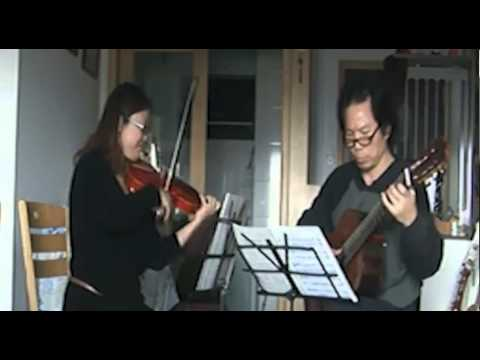 Paganini Duet for violin and guitar